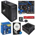 "Intel� Core� i7-4790K Processor and MSI Z97-G55 SLI ATX Motherboard and Kingston HyperX Fury Red 8GB Memory Module Kit and WD Blue 1TB Sata 3.5"" Desktop Hard Drive and Corsair Hydro Series H75  Bundle"