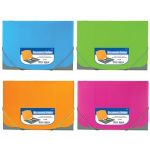 BAZIC Two Tone Letter Size Document Holder w/ Elastic Band (Case of 72)