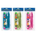 BAZIC Bright Color 9 Pcs. Math Tool Sets (Case of 12)