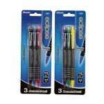 3-PACK 0.5MM MECHANICAL PENCIL