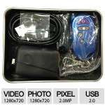 Feel-safe DIY Camera - Build Almost Anything into a Spy-Cam, DVR (8GB CARD) - EM-61