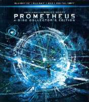 PROMETHEUS COLLECTOR'S EDITION - Blu-Ray Movie