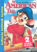 AMERICAN TAIL FAMILY DOUBLE FEATURE - DVD Movie