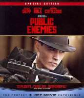 PUBLIC ENEMIES - Blu-Ray Movie