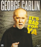 CARLIN IT'S BAD FOR YA - Blu-Ray Movie