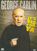 GEORGE CARLIN:IT'S BAD FOR YA - DVD Movie