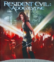 RESIDENT EVIL:APOCALYPSE - Blu-Ray Movie