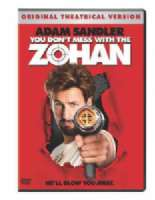 YOU DON'T MESS WITH THE ZOHAN - DVD Movie