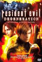 RESIDENT EVIL:DEGENERATION - DVD Movie
