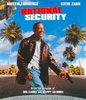 NATIONAL SECURITY - Blu-Ray Movie