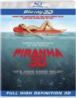 PIRANHA 3D - Blu-Ray Movie