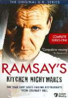 RAMSAY'S KITCHEN NIGHTMARES SERIES 1 - DVD Movie