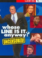 WHOSE LINE IS IT ANYWAY:SSN 1 V 2 - DVD Movie