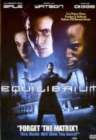 EQUILIBRIUM - DVD Movie