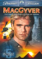 MACGYVER:COMPLETE FIFTH SEASON - DVD Movie