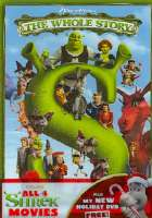 SHREK THE WHOLE STORY QUADRILOGY - DVD Movie