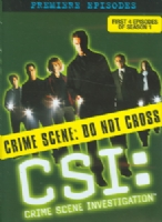 CSI:PREMIERE EPISODES SSN1 EPS 1-4 - DVD Movie