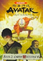 AVATAR LAST AIRBENDER BOOK 2 EARTH V4 - DVD Movie
