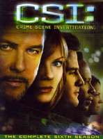 CSI:COMPLETE SIXTH SEASON - DVD Movie