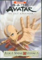 AVATAR LAST AIRBENDER BOOK 1 WATER V1 - DVD Movie