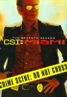 CSI:MIAMI COMPLETE SEVENTH SEASON - DVD Movie