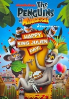 PENGUINS OF MADAGASCAR:HAPPY KING JUL - DVD Movie
