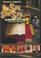 HE SAY SHE SAY BUT WHAT DOES GOD SAY - DVD Movie