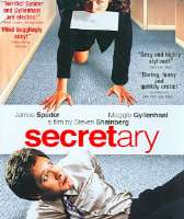 SECRETARY - Blu-Ray Movie