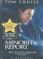 MINORITY REPORT - DVD Movie