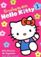HELLO KITTY EATS HER VEGETABLES - DVD Movie