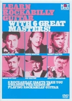 LEARN ROCKABILLY GUITAR WITH 6 GREAT - DVD Movie