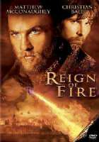 REIGN OF FIRE - DVD Movie