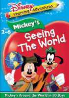 MICKEY'S AROUND THE WORLD IN 80 DAYS - DVD Movie