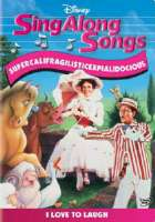 SING ALONG SONGS:SUPERCALIFRAGILISTIC - DVD Movie