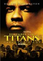 REMEMBER THE TITANS:UNRATED EXTENDED - DVD Movie