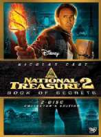 NATIONAL TREASURE 2:BOOK OF SECRETS G - DVD Movie