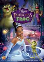 PRINCESS AND THE FROG - DVD Movie