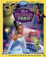 PRINCESS AND THE FROG - Blu-Ray Movie