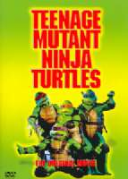TEENAGE MUTANT NINJA TURTLES - DVD Movie