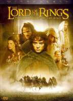 LORD OF THE RINGS:FELLOWSHIP OF RING - DVD Movie