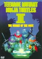 TEENAGE MUTANT NINJA TURTLES 2:SECRET - DVD Movie