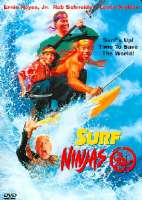 SURF NINJAS - DVD Movie