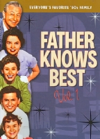 FATHER KNOWS BEST VOL 1 - DVD Movie