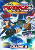 BEYBLADE:METAL FUSION VOL 2 - DVD Movie