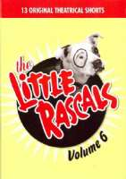 LITTLE RASCALS VOL 6 - DVD Movie