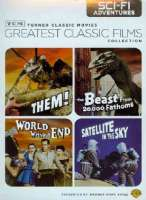 TCM CLASSIC FILMS:SCI FI ADVENTURES - DVD Movie