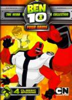 BEN 10 CLASSIC:FOUR ARMS - DVD Movie