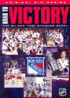 NHL ROAD TO VICTORY:NEW YORK RANGERS - DVD Movie