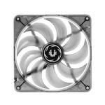 Bitfenix Spectre LED White 140mm Fan - 1000�10% RPM, 0.19A�10% Current, 47.7�10% CFM Air Flow, 0.60 mmH2O Air Pressure - BFF-BLF-14025W-RP