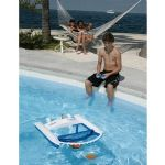Blue Wave Jet Net Rc Boat Skimmer - Rechargeable, Up to 5 Hours, Up to 100ft - NT212
